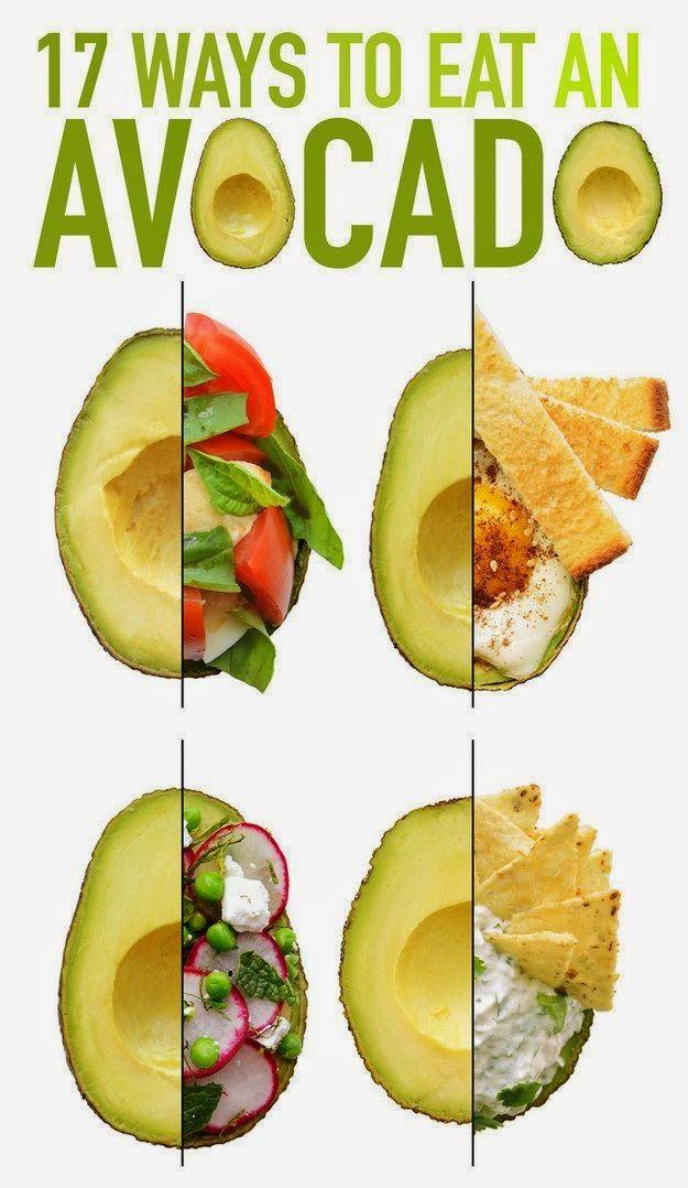17 ways to eat an avocado