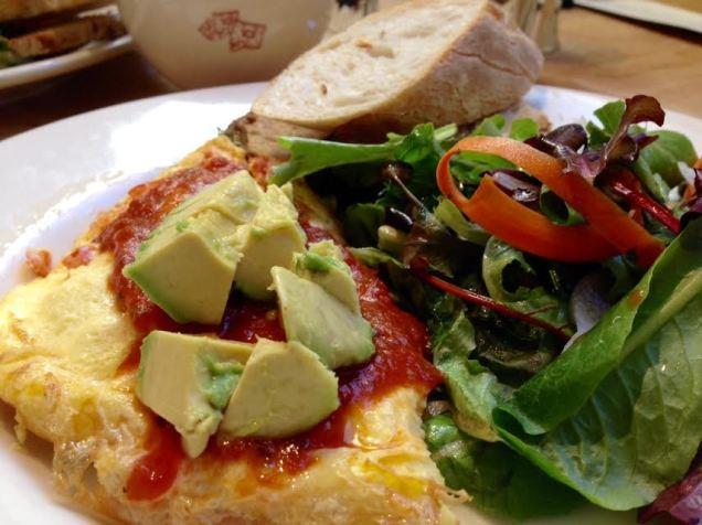 LPQ Avocado and Tomato Omelette