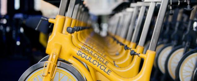 soul cycle bikes DC