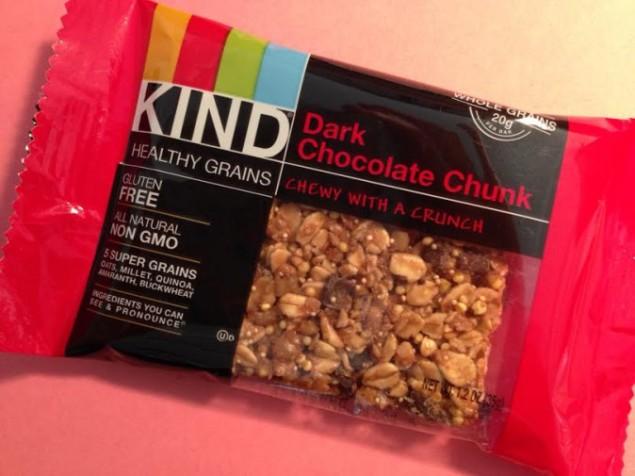 KIND Healthy Grains Dark Chocolate Chunk bar