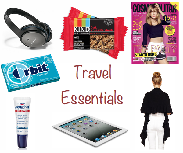 carry on travel essentials