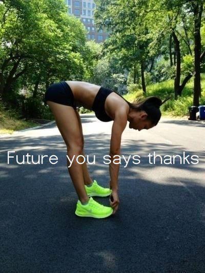 future you says thanks