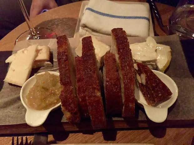 goat cheese plate eno