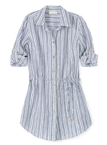 Tori Burch Luna beach shirt