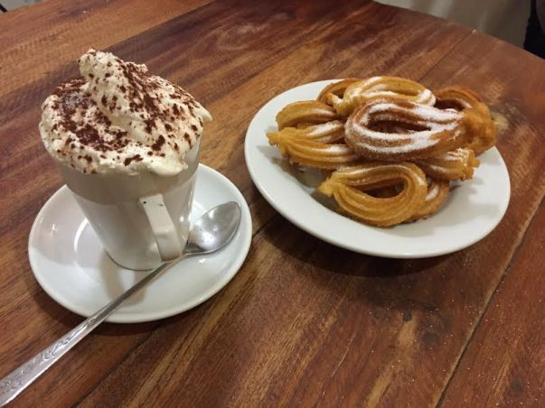 chocolate and churros