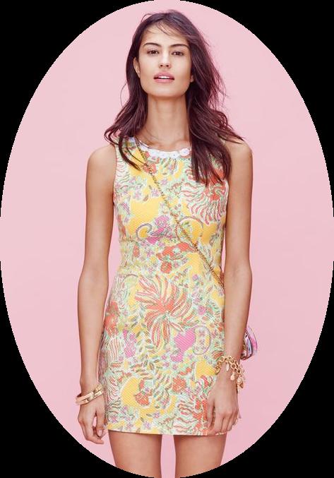 Target Lilly Pulitzer dress lookbook