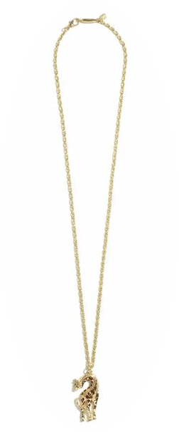 Target Lilly Pulitzer girraffe necklace