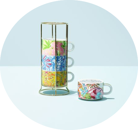 Target Lilly Pulitzer home cups lookbook
