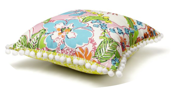 Target Lilly Pulitzer home pillow
