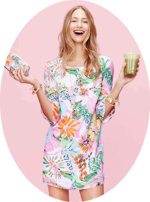 Target Lilly Pulitzer print dress