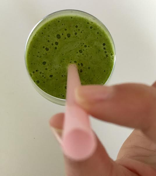 spinach fruit smoothie