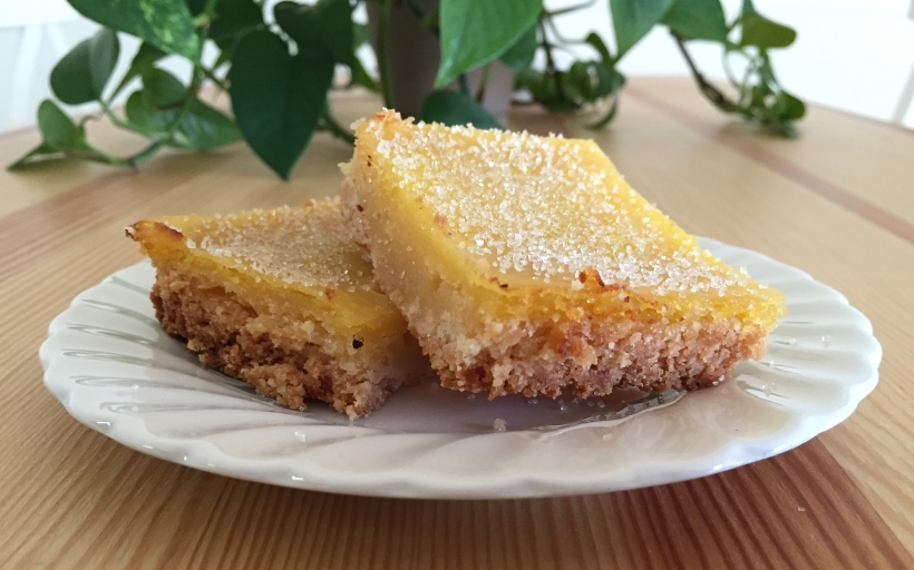 tart lemon bars