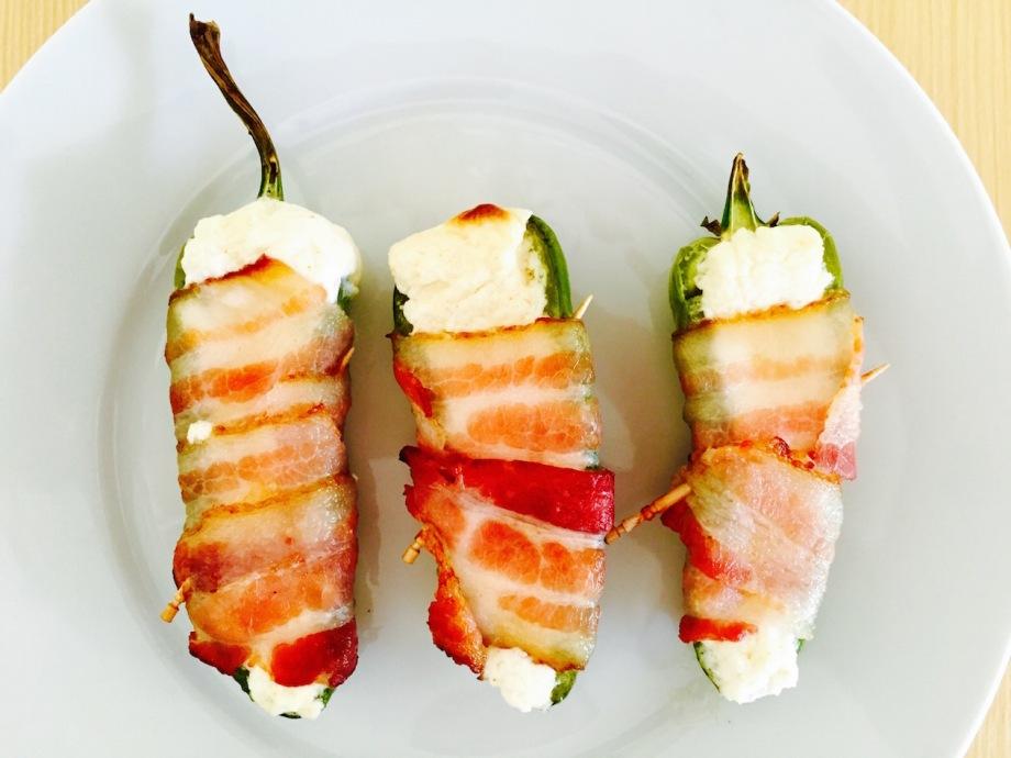 bacon jalapeño poppers