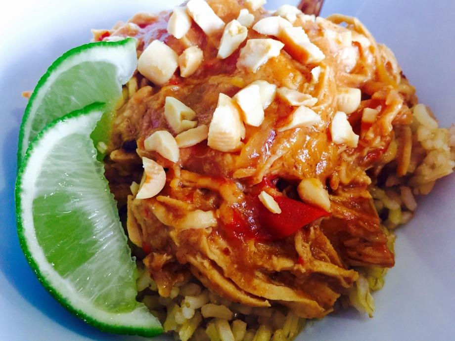 crockpot chicken thai