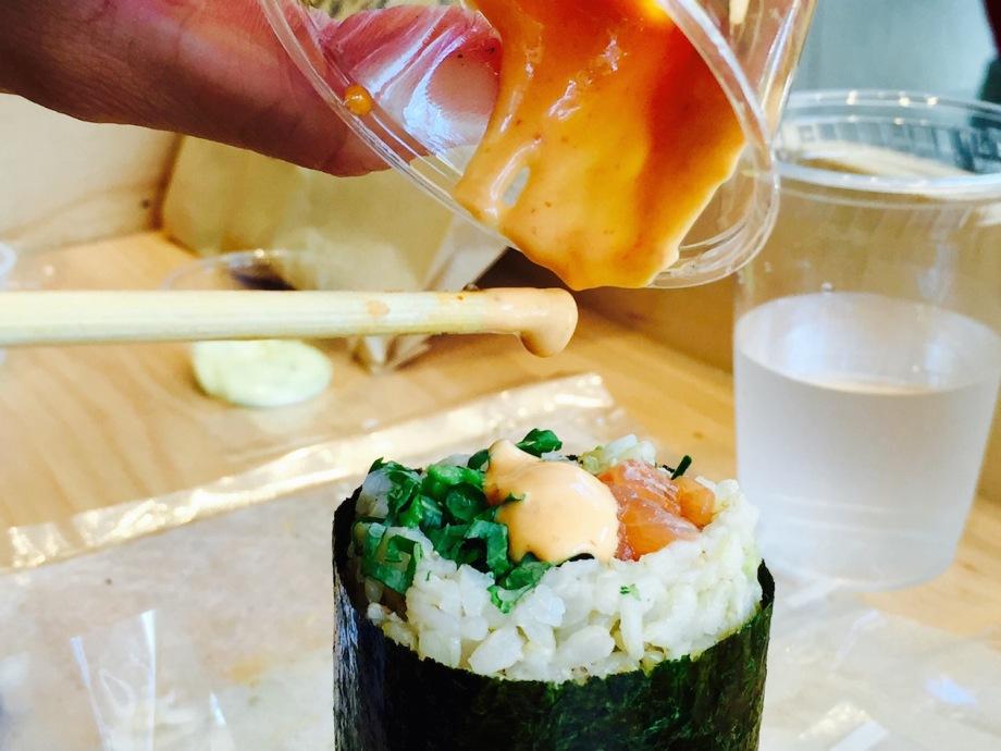 spicy tuna maki shop