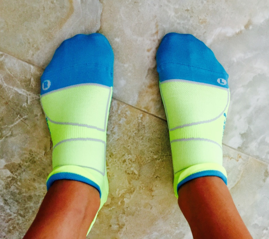 L and R socks